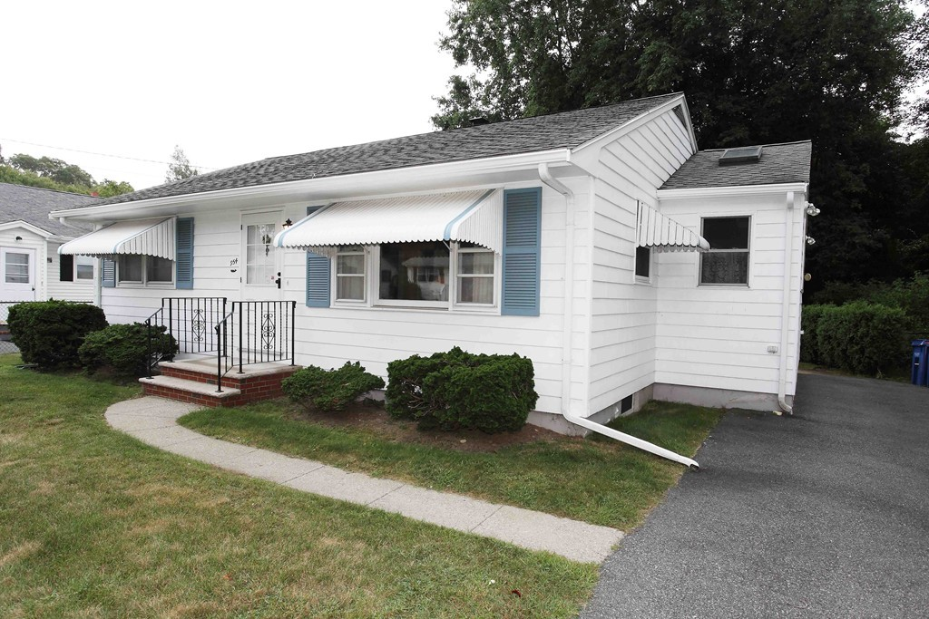 Welcome to this Classic Ranch Home in Excellent Condition! This is a beautiful well maintained home in a quiet far north end neighborhood just minutes to shopping, banks , schools, supermarkets, restaurants, pharmacies and Route 140 ! Updates include architectural roof, windows and doors, &  electrical !  You will be delighted to find all the rooms are generous in size with ample closets and hardwood floors!  Also hardwood floors under carpet! There is a sunny sky lighted entry hall / sunroom off the spacious kitchen with dining area. The enclosed large backyard is very private ! Don't miss this wonderful home priced to sell!!