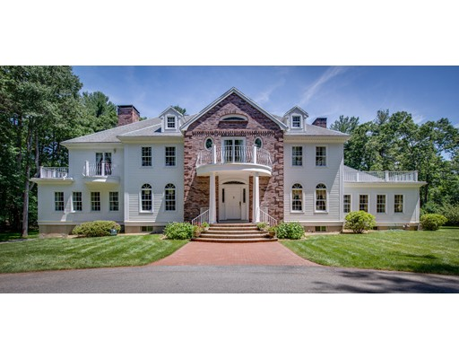 Once part of the historic Tucker estate, this Georgian Colonial is located on Boston's prestigious and beautiful North Shore on sought after cul-de-sac in Wenham, that offers the discerning home buyer a plethora of amenities. Riding trails, equestrian centers, golf courses, country clubs, the commuter rail and more. There are numerous educational offerings as well with a renowned public school system, private schools, colleges and universities near by. Conveniently located just close enough to Rte. 128 (but far enough to not hear it) major business centers and ocean beaches are nearby while Boston and Logan International Airport are just 40 minutes away. Neighboring Beverly also  has a fully equipped airport. This stately colonial, nestled among the trees on 2.82 acres provides privacy, serenity and room for extended family, an au-pair, and/or ample space for visiting business associates.