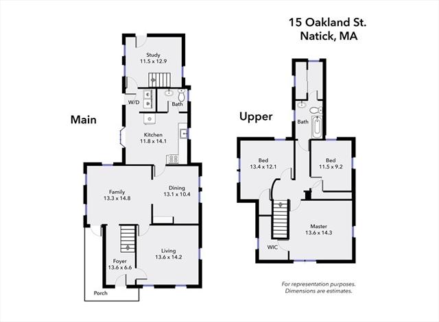 15 Oakland Street Natick MA 01760