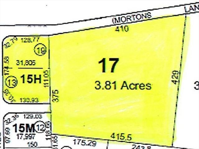 Lot15H&17 Morton Lane Acushnet MA 02743