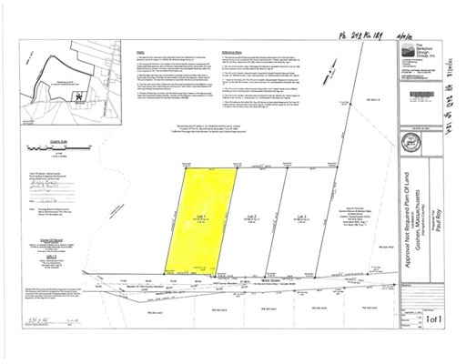 0-Lot 1 West Street, Goshen, MA 01032