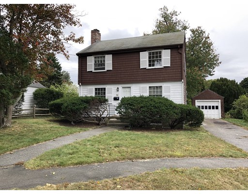 COMMUTER OPEN HOUSE 10/10 6-7pm & OH 10/12 12-2. Bring your imagination and get going on your Pinterest boards! This hidden gem needs work but is near Milton Central Ave commuter T stop. .25 to 1 mile to Turner Pond jogging paths, coffee, pizza, wine shop and restaurants from this home on a quiet side street. Take the bike path to Venezia waterfront, Pierce Middle School, Milton Academy and the high school. Near Town Hall's weekly Summer Concert Series and Milton Hospital. New furnace in 2017. Gas fireplace. Large walk-up attic for storage. A detached garage frames a level yard with great garden area and huge flowering rhododendrons. Your investment will be well worthwhile in this coveted part of Milton, 17 min from Downtown Boston.  To be sold As-is.