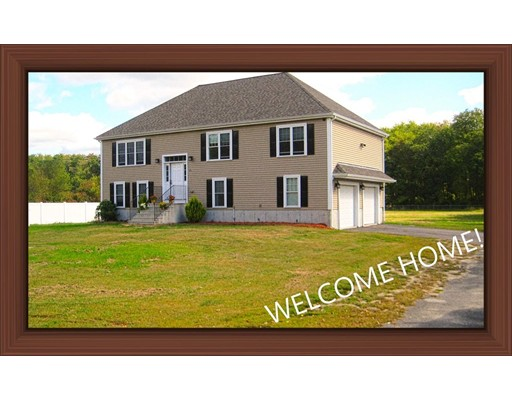 WELCOME HOME FOR THE HOLIDAYS! You must see this 4 year young home. This home is setback off the road for more privacy to enjoy your 1.13 acres. Enjoy those summer-time swims in your above ground pool. Swing-set is ready for the children to enjoy. This home also offers a 2 car garage (under), outside shed and partially fenced in yard. Minutes to shopping and highway access and more.