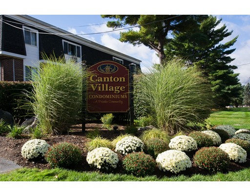 Garden Style Canton Village Condominium located on the second floor with features include updated bathroom, good size bedroom, dining room, large living room with slider to private balcony, professional management company, laundry in basement area, storage locker space, 1-assigned parking spot (#132), and a beautiful pool area. Conveniently located near Canton Center, retail shops, commuter rail, and Route 93 and 95.