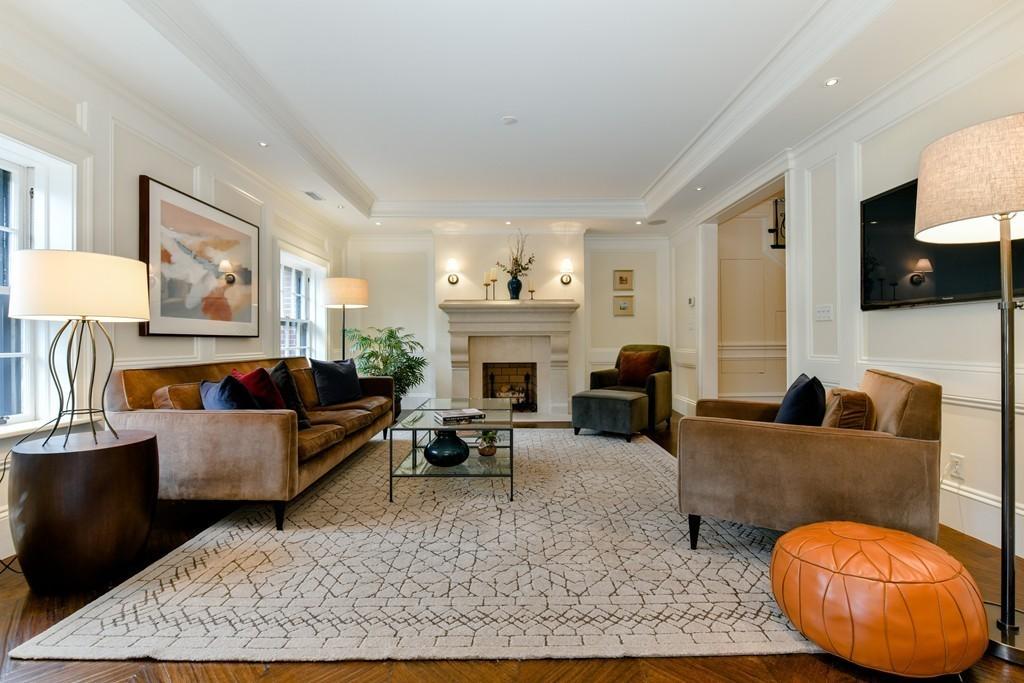 Rare duplex Beacon Hill condo for sale on Chestnut Street