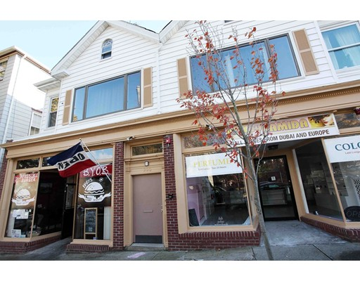 Welcome to downtown New Bedford! Bring your ideas & get creative! Opportunity Knocks in this Opportunity Zone. This mixed use building may be a perfect fit for you and your business. The main level has 2 beautiful finished store fronts available  , one  used as a restaurant , complete with equipment. The second unit can be used separately for retail or office . Both spaces can be combined with the restaurant space for a larger restaurant or retail space with 2425 sq ft in size . The second level as 2 large 2 bedroom apartments that are currently rented. Property has been well maintained throughout the years. Situated next to a very high traffic corner & surrounded by many popular dining establishments , offices, courthouses ,retail stores ...allows for big exposure. Don't miss out on this great opportunity on this prime location. Easy access to all major routes and highways and all within walking distance that downtown New Bedford has to offer!