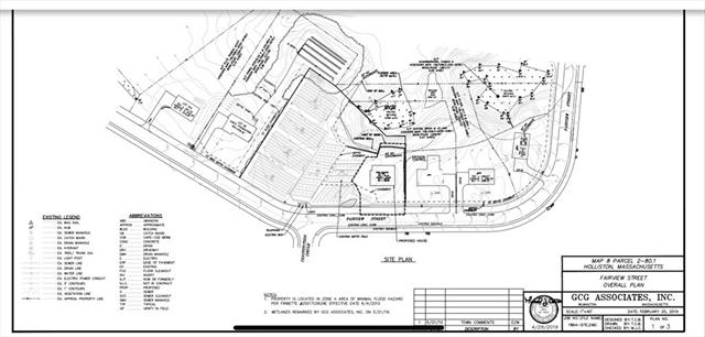 Lot 801 Fairview Street Holliston MA 01746