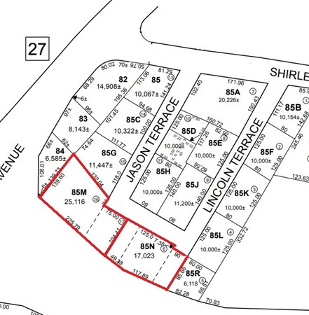 What a deal !!! 2 (two) adjoining parcels of land on a quiet end street in Fairhaven with access to the highways, close to shopping & restaurants! This opportunity does not become available often !!! Call Today !!!  Buyer/Buyer's agent to verify all information deemed reliable. ---  Sale is subject to Seller obtaining License to Sell