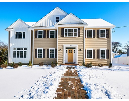 Brand New Home with a fantastic floor plan in sought after Stratton School area can be yours if you act quickly. Spacious 1st floor features a large kitchen with dining area for informal dining, pantry, center island and slider to deck. Also on this floor living room, dining room, 1/2 bath and a front to back family room with gas fireplace. The 2nd floor has a spacious master suite with 2 walk-in closets and custom master bath, 3 additional bedrooms, bath and laundry room. Finished walk-out lower level makes for a perfect play room or media room. Other features include a 2 car garage with direct access to the LL, high efficiency heating and central AC, walk up 3rd floor for storage. All this located just steps to a bus to Alewife.