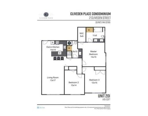2 Cliveden Street #403E, Quincy, MA 02169