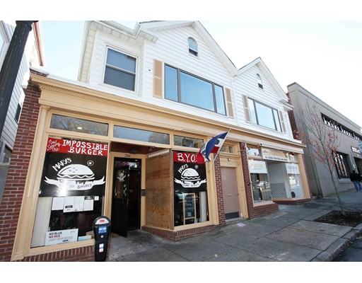 Welcome to downtown New Bedford! Bring your ideas & get creative! Opportunity Knocks in this Zone. The main level has 2 beautiful finished store fronts available, one used as a restaurant, complete with equipment. The second unit can be used separately for retail or office (MLS #72606138). Both spaces can be combined with the restaurant space for a larger restaurant or retail space with 2,600 sq ft in size. This property is also FOR SALE MLS #72585731