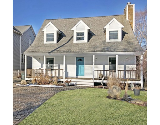Welcome home to this quiet cape located 1 block from its deeded Stoneledge Beach.  This home boasts a farmers porch, spacious living room with fireplace and sliders out to the the deck, kitchen with adjacent dining room, half bath and first floor laundry.  The second level offers a master bedroom ensuite with walk in closet, two more bedrooms and another full bath.  A full basement, fenced in backyard, storage shed and off street parking.  This turnkey home is within a few minutes stroll of the bustling Padanaram Village with it's shops, restaurants, and Yacht Club. While certainly suitable for year round living, this home would also make an ideal summer retreat....
