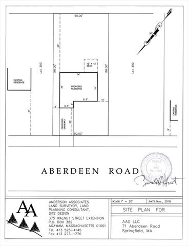 71 Aberdeen Road Springfield MA 01109