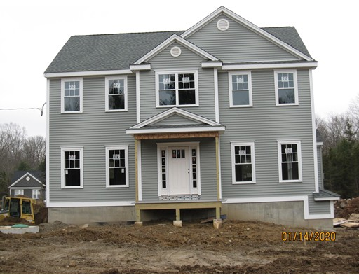 New construction underway in Attleboro!  Come and see this beautiful, 3 bedroom, Colonial style home with a great open floor plan on a 3/4 acre wooded lot near the Attleboro/Norton line. This 2 story home has 9' ceilings on the first floor, hardwood floors, recessed lighting, gas fireplace and a spacious kitchen with an island. Lovely  dining room is perfect for entertaining. Upstairs you will find a large master bedroom with a walk-in closet. Master bath has double sinks, walk-in shower and  tile flooring. There are two additional  bedrooms, an office or guest room, and another full bath that complete this floor. This home also has two zones forced hot air heat & central air conditioning. Walk out basement has plenty of storage and/ or could easily be finished. There is still time to personalize this home with some of your own choices! Spring delivery expected for this home.  Call today to make this your new address.