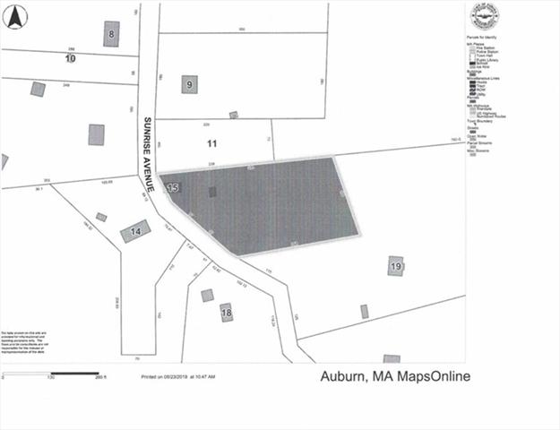 15 Sunrise Avenue Auburn MA 01501