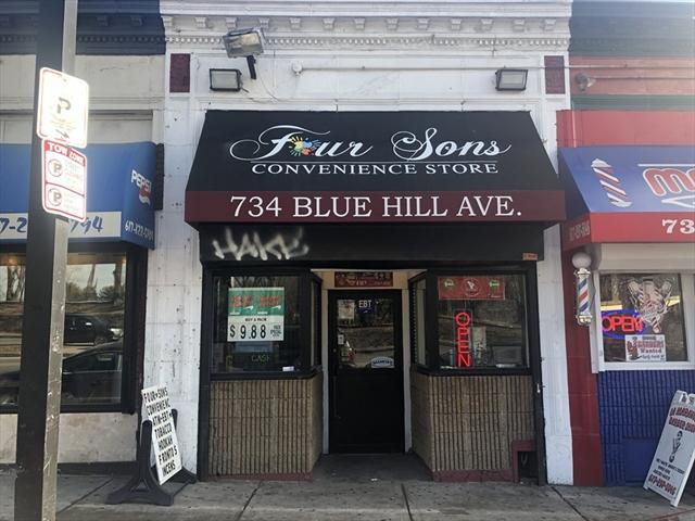 734 Blue Hill Avenue Boston MA 02121