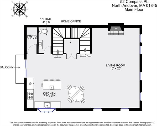 52 Compass Point North Andover MA 01845