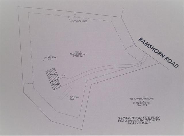 Lot 1 RAMSHORN Road Charlton MA 01507