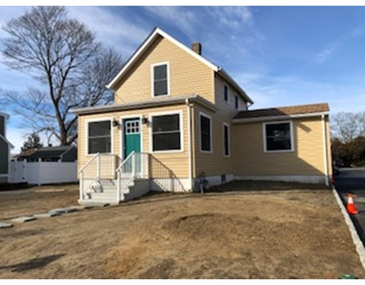 Single family totally renovated inside & out - New vinyl, windows, new kitchen, flooring & s/s appliances, upgraded bath, living room open to sunny sitting room, hardwoods, freshly painted too.  No pets. Credit check required.
