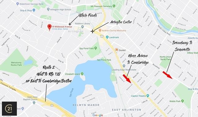 19 Wildwood Avenue Arlington MA 02476