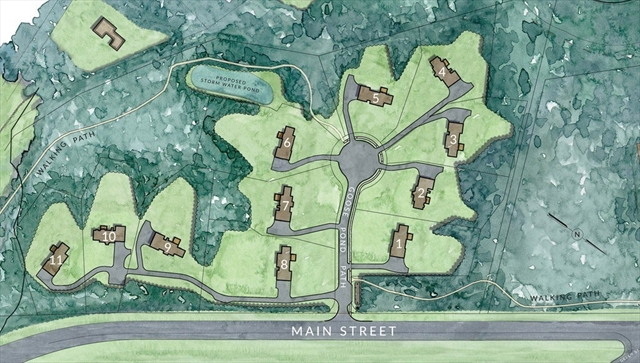 Lot 2 Goose Pond Path Bolton MA 01740