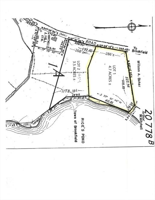 Lot 1 Fiskdale Road, Brookfield, MA Image 1