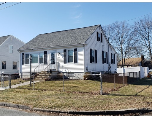 Great location near Pine Grove Cemetery and Greater New Bedford Vocational High School. Cape with 1393 SF GLA. larger than it looks.  Beautiful modern kitchen with granite counter top and tile floors with French door to large deck to watch the sunset.  Fireplaced living room, Oak floors throughout, raised panel walls, replacement windows and recent roof.  Nice fenced yard, garage and above ground pool. Great place to live,