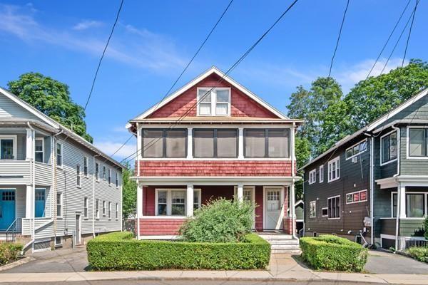 11-13 Harrison Ave, Cambridge, MA, 02140, North Cambridge Home For Sale