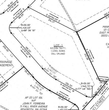 Lot 1 Linden Lane Rehoboth MA 02769
