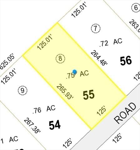 Lot 55 Secret Lake Road Phillipston MA 01331