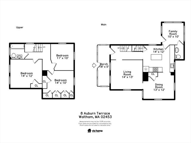 8 AUBURN Terrace Waltham MA 02453