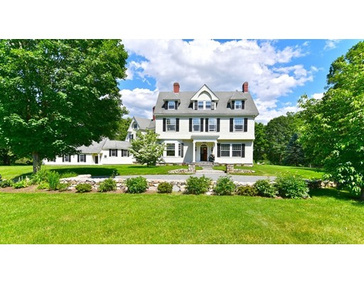 This 25 room incomparable Queen Ann colonial revival estate resides on 2.14 acres offering an extraordinary living experience incl. 8 bdrms, 6 baths & 7 working fireplaces! Brilliant architectural elements throughout make this home a work of art, w/an impeccable blend of old world charm & exceptional craftsmanship. The custom original oak grand staircase, provides a warm welcome upon entering this home. The kitchen boasts timeless elegance w/walnut cabinets, granite counters, double wall ovens, a butler's pantry, and add. pantry adorned w/ customized moldings that extend in the family rm & beyond. The Grand Suite has 11' ceilings & custom millwork along w/ beautifully appointed basket-woven marble tiled bath. The expansive grounds include a pebble stone front drive and a fire pit & patio designed w/ blue stone. This private estate has been reimagined for today's lifestyle.