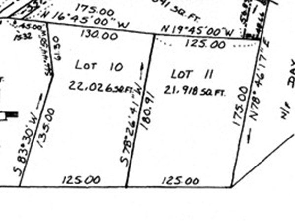 Map 137-5 Worcester Road Sterling MA 01564
