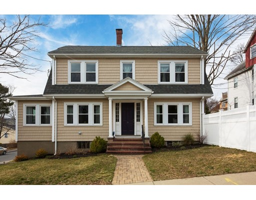 This immaculately maintained 3 bed, 2.5 bath center colonial sits on a corner lot in Boston's historic Fairmount Hill neighborhood, right on the Milton line. Fully renovated in 2014, original details and character were preserved while adding modern conveniences. The kitchen has granite countertops, a center island, Bosch appliances and sits adjacent to the dining area.  The front to back living room has a wood burning fireplace and is flanked on either side with french doors which open to the sun room, perfect for an office or playroom. Upstairs you will find 3 generously sized bedrooms in addition to a full bath. The master bedroom has an en suite bath and cedar closet. Enjoy the warmer months in your fully fenced yard with stone patio and landscaping. Additional highlights include central AC, hardwood floors throughout, abundant natural light, two car garage and large basement for storage. Close proximity to the Fairmount commuter rail station, I-95, Legacy Place and the Blue Hills.