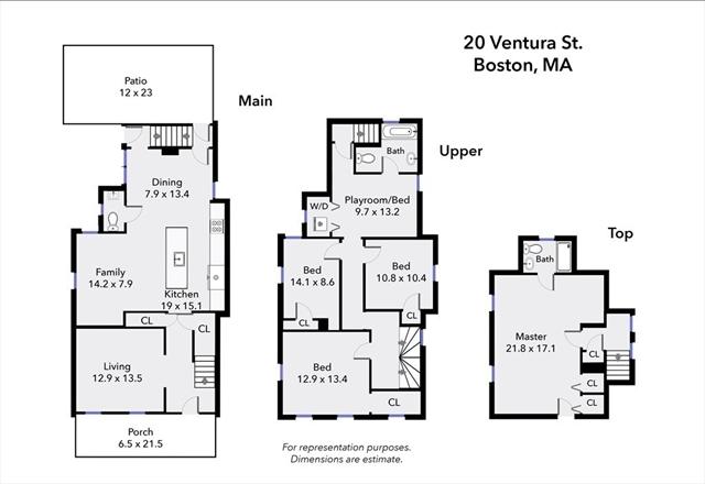 20 Ventura Street Boston MA 02124