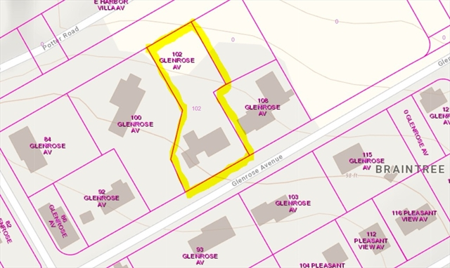 102 Glenrose Avenue Braintree MA 02184