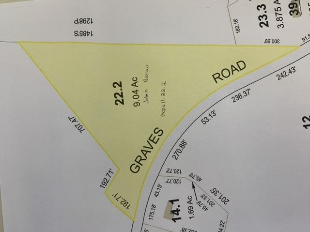 Graves Road Conway MA 01341