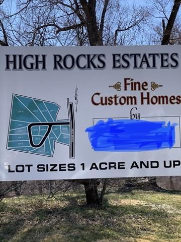 Lot 5 High Rocks Estates East Brookfield MA 01515