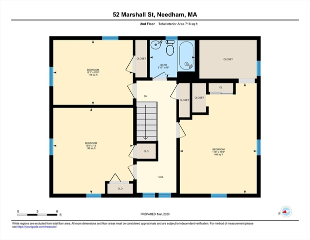 52 Marshall Street Needham MA 02492