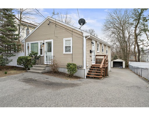 Perfect little west side property.  The inside was just painted, a clean neutral canvas for you.  Updates such as new windows, new hot water tank, a new fridge included.  Nothing to do, but move right in.   Lots of possibilities in the full basement where you can create any bonus space you desire. Easy walk out to the back yard. Tons of parking space. Take time off the commute, this house is minutes to the highway. Easy to show.  Virtual tours, Virtual Open house later this week.