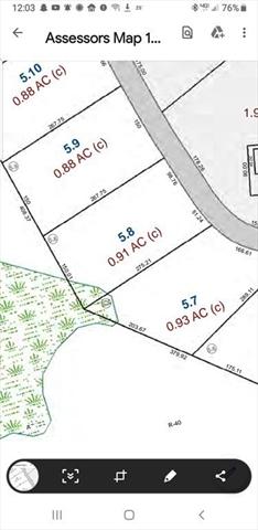 Lot 5.8 Osgood Road Charlton MA 01507