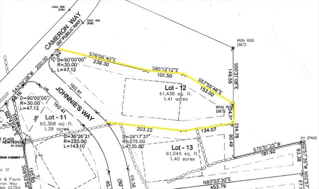 Lot 12 Johnnies Way Rehoboth MA 02769