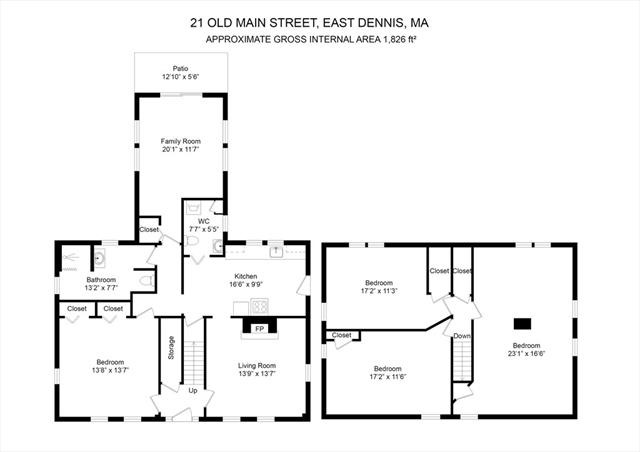 21 Old Main Street Dennis MA 02670