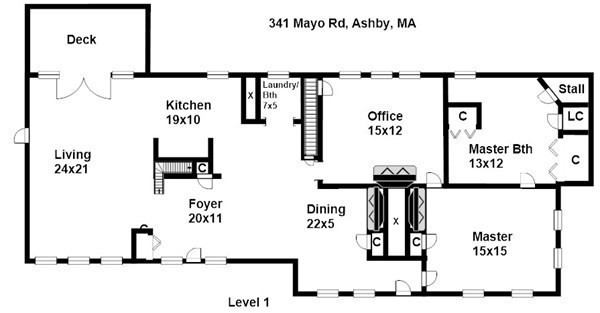 341 Mayo Road Ashby MA 01431
