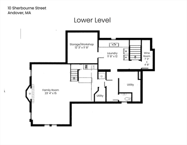 10 Sherbourne Street Andover MA 01810