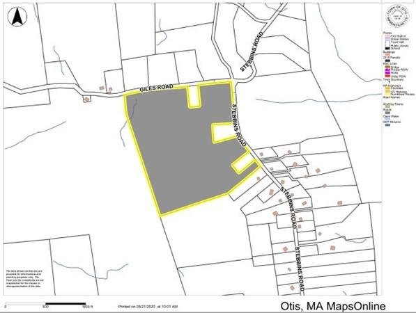 Stebbins Road Otis MA 01253