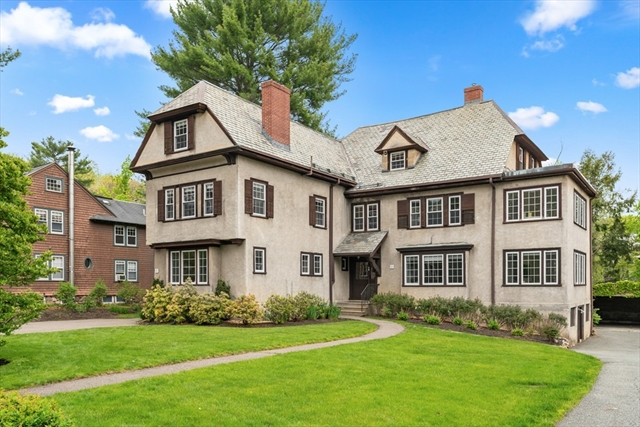 8 & 10 Upland Rd., Wellesley, MA, 02482,  Home For Sale