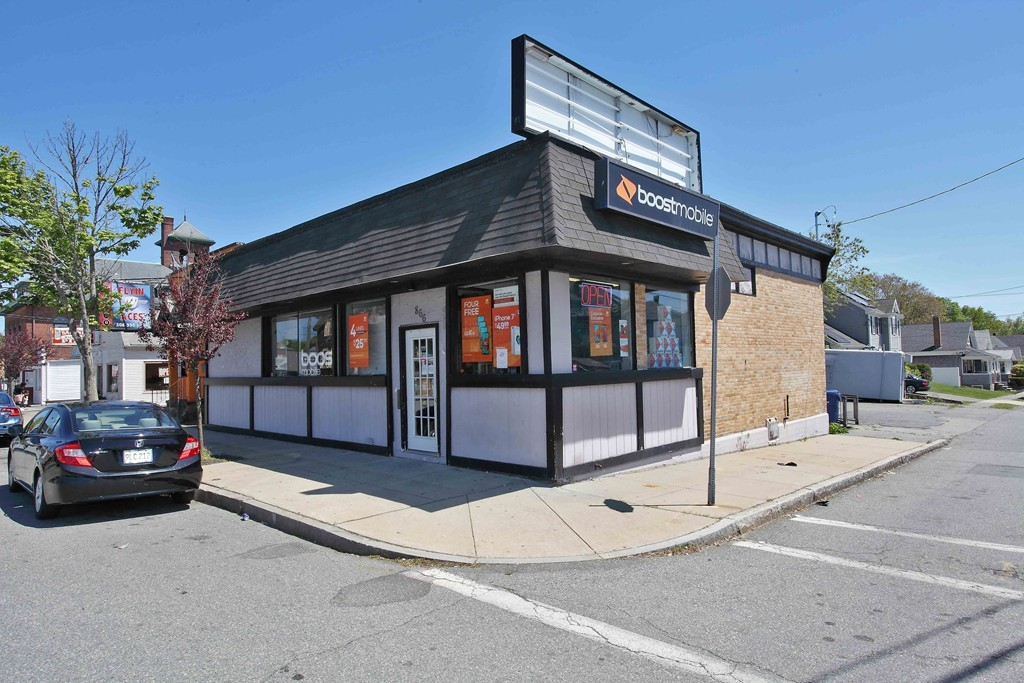 Bring your Business Here!! Large 2,736 square foot commercial building on Busy Route 6  & Rockdale Avenue/ Buttonwood Park area!  This building is ideal for mobile store, day spa, retail, professional offices, hair salons,barber shops, distribution & so much more!! In addition to the high traffic and high visibility there is a lot of foot traffic in the area too! Routes 140 and Routes 195 are minutes away to! .. Full basement . Parking for 5 cars on Francis Street. Neighboring businesses include Cumberland Farms, Quick Service Restaurants, & Banks .Sale is for Real Estate only, current business is relocating. Motivated Sellers !!