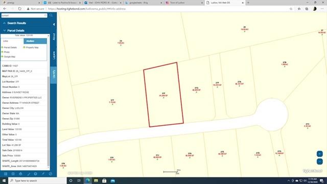 Lot 6 Sunset Ridge Ludlow MA 01056