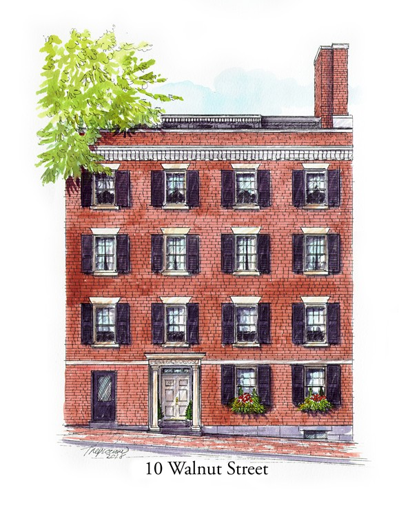 Photo of 10 Walnut Street Boston MA 02108